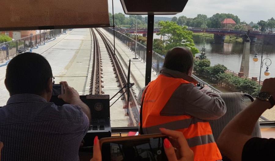 Pociągi w końcu wracają na gorzowską estakadę
