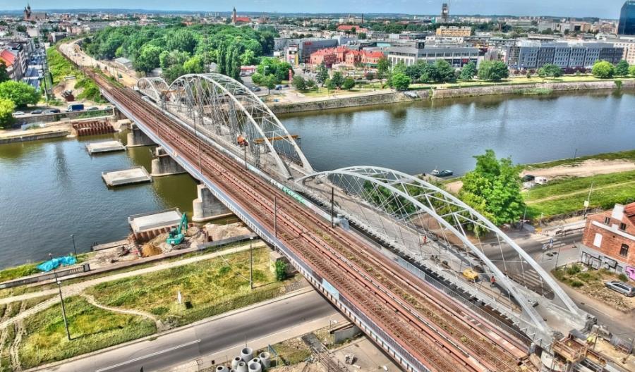 Drugie, trzecie i czwarte życie krakowskiego mostu kolejowego. Pojedzie m.in. nad San