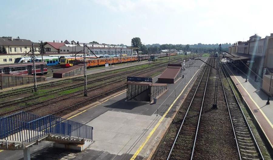 Rzeszów Główny – rozpoczyna się przebudowa peronów