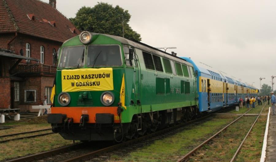 Transcassubią na XXI Światowy Zjazd Kaszubów. Specjalny pociąg do Chojnic