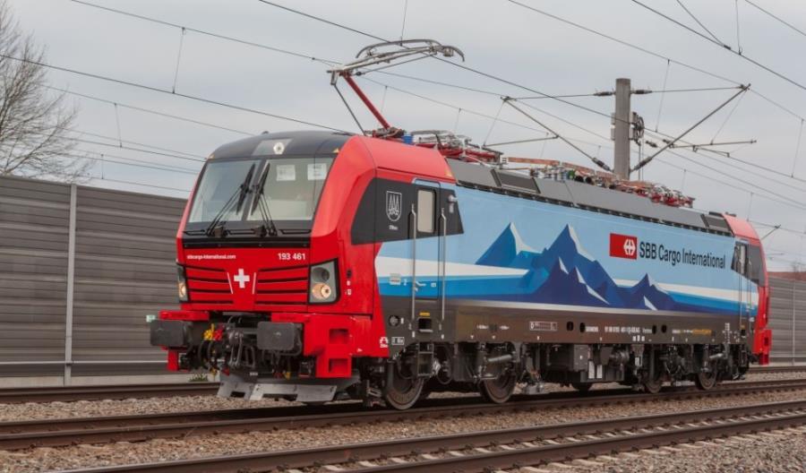 SBB Cargo International zamawia 20 lokomotyw Vectron