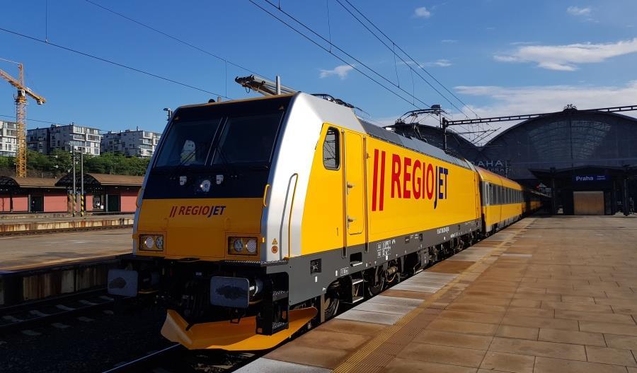 RegioJet chce uruchomić pociąg z Pragi przez Kraków do Mościsk