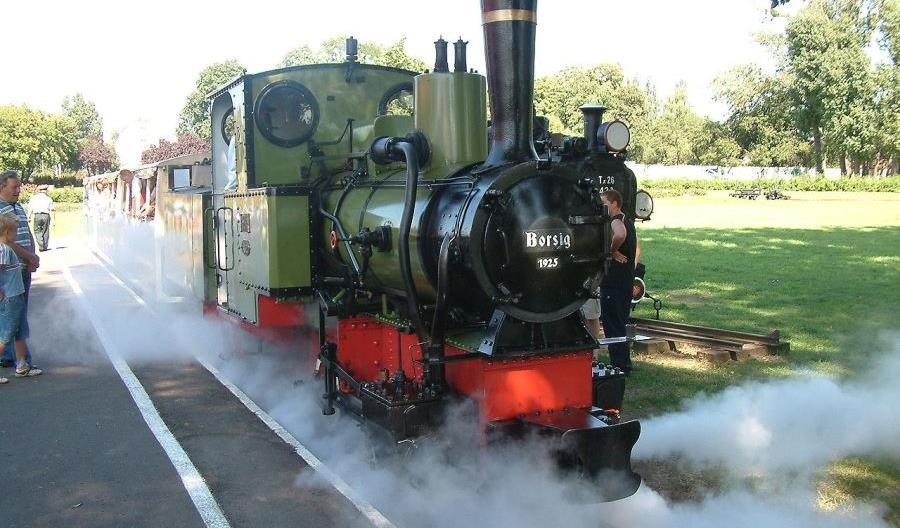 Dwa parowozy pociągną wagony na poznańskiej Maltance