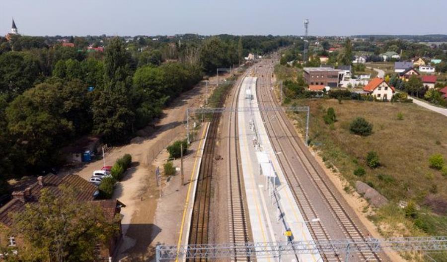 PLK otwiera nowe perony na linii Poznań – Szczecin