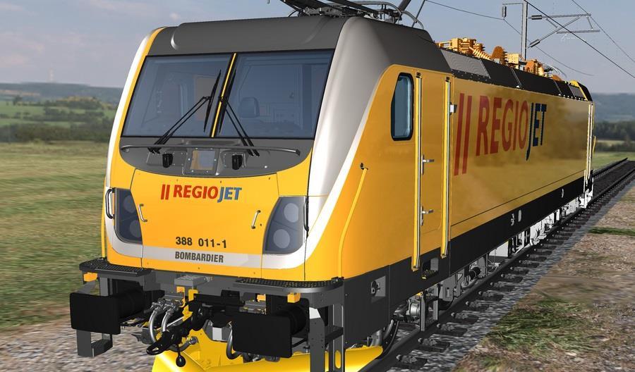 Duży kontrakt RegioJet. Kupi 15 lokomotyw Traxx MS3 nowej generacji