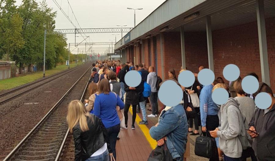 Ogromny tłok w pociągach z Rembertowa. Koleje Mazowieckie i ZTM reagują