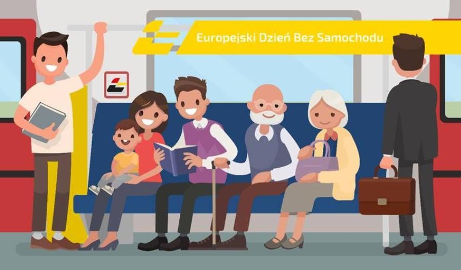 Taniej lub wręcz za darmo – akcja Dzień bez Samochodu na kolei