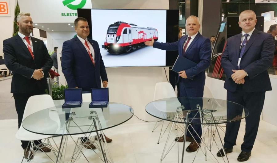 Newag dostarczy pięć lokomotyw Dragon 2 dla Rail Capital Partners
