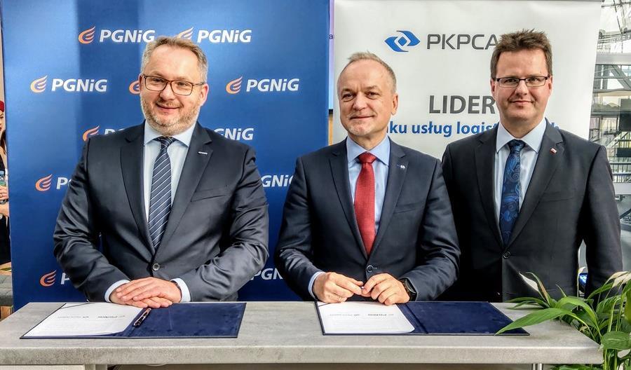 PGNiG i PKP Cargo sprawdzą możliwość przewozu paliwa gazowego LNG  za pośrednictwem kolei