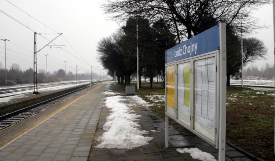 Łódź-Chojny: Czynne będą trzy perony