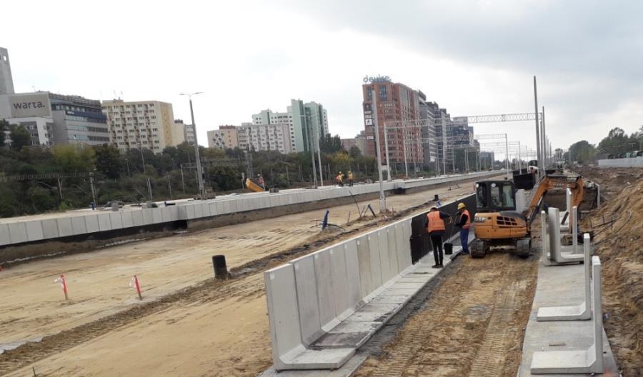 Warszawa Główna później, za to z nowym wiaduktem na linię podmiejską