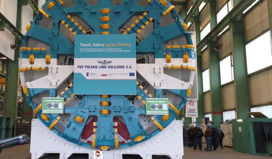Łódzki tunel średnicowy: Tarcza gotowa do odbioru