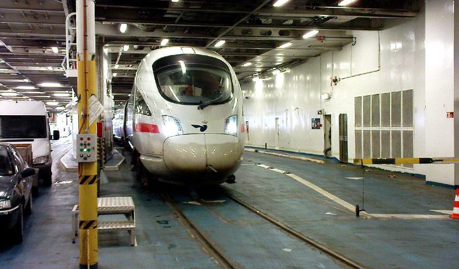 """Koniec """"promowych"""" pociągów pasażerskich z Hamburga do Kopenhagi"""