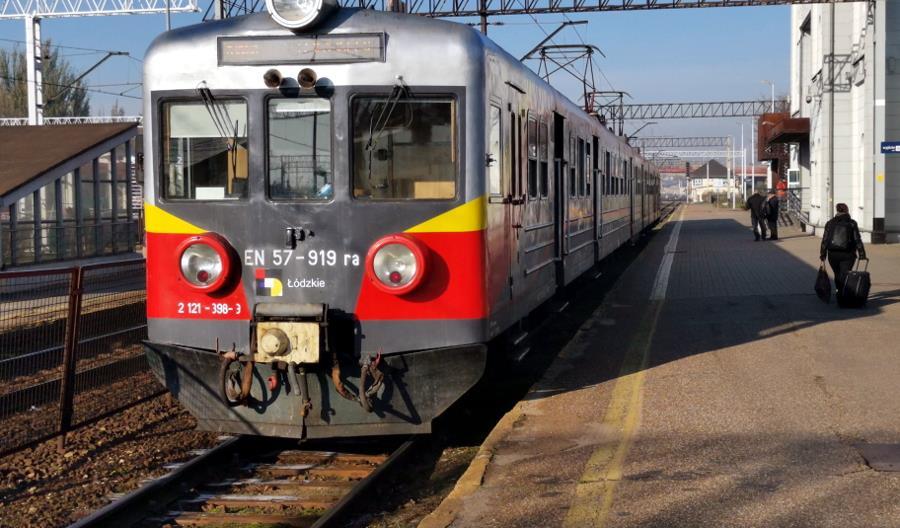 Łódzkie: Więcej pociągów PR do Opoczna i Warszawy