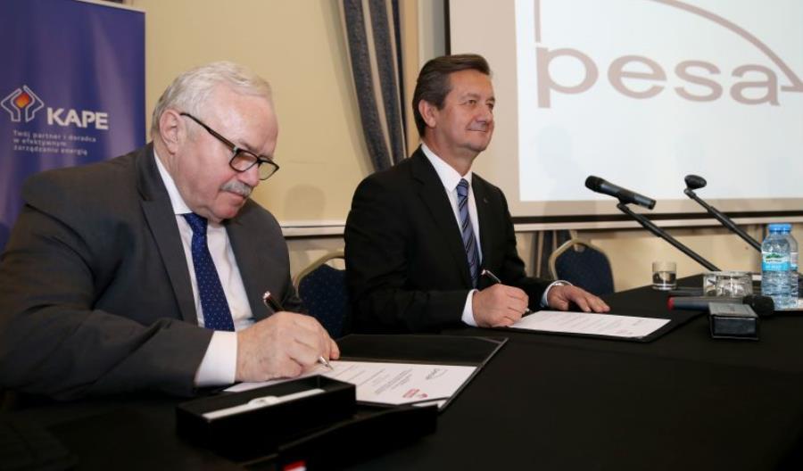Strategiczna współpraca Pesy i Orlenu przy technologii wodorowej