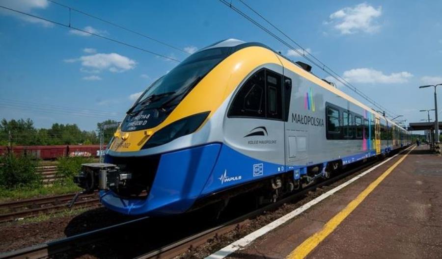 Małopolska kupi 7 elektrycznych zespołów trakcyjnych z myślą o aglomeracji