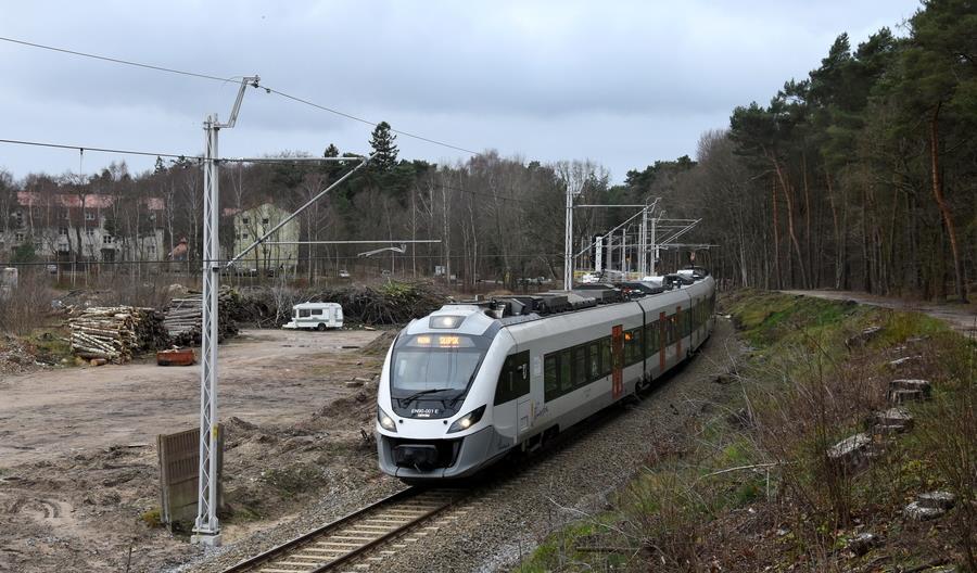 Koniec modernizacji linii 405 zaplanowano na czerwiec 2020