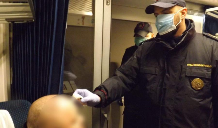 SOK rozpoczął kontrole temperatury pasażerów w pociągach międzynarodowych