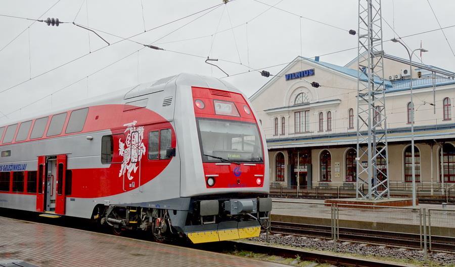 Koleje litewskie w 2019 r. zarobiły ponad 57 milionów euro
