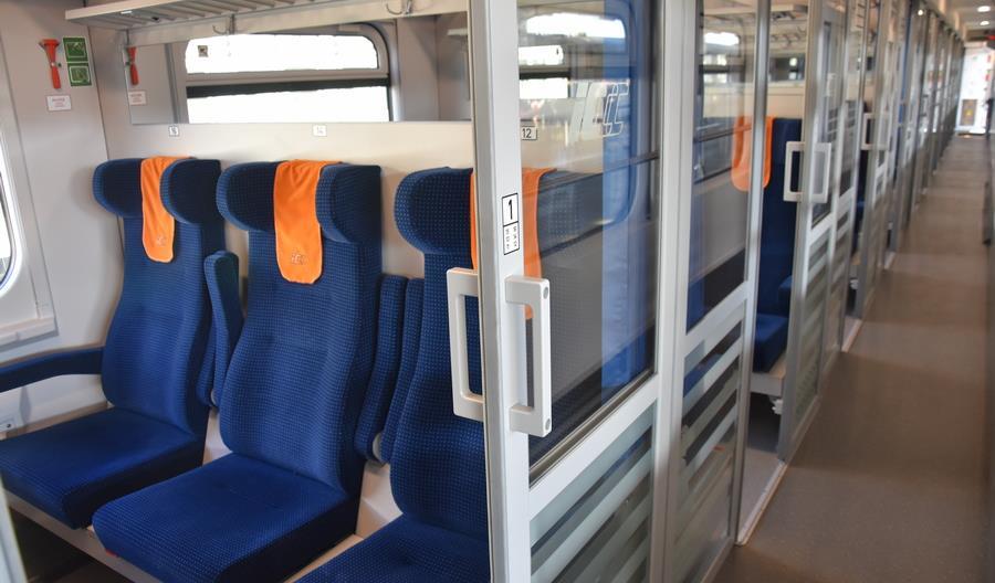 Automatyczne zapowiedzi głosowe stacji w wagonach po modernizacji PKP Intercity