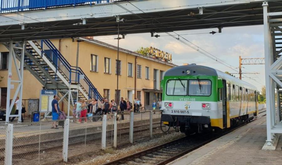 """Linia Ostrołęka – Chorzele. """"Nie może być mowy o alokacji środków w momencie trwania inwestycji"""""""