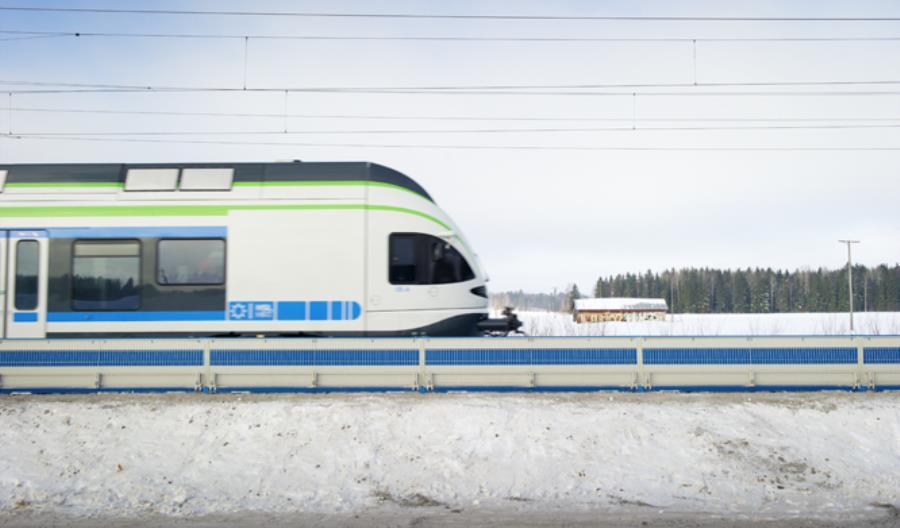 Trwa projekt wyciszania linii kolejowych. PLK rozmawiała z producentami niskich ekranów