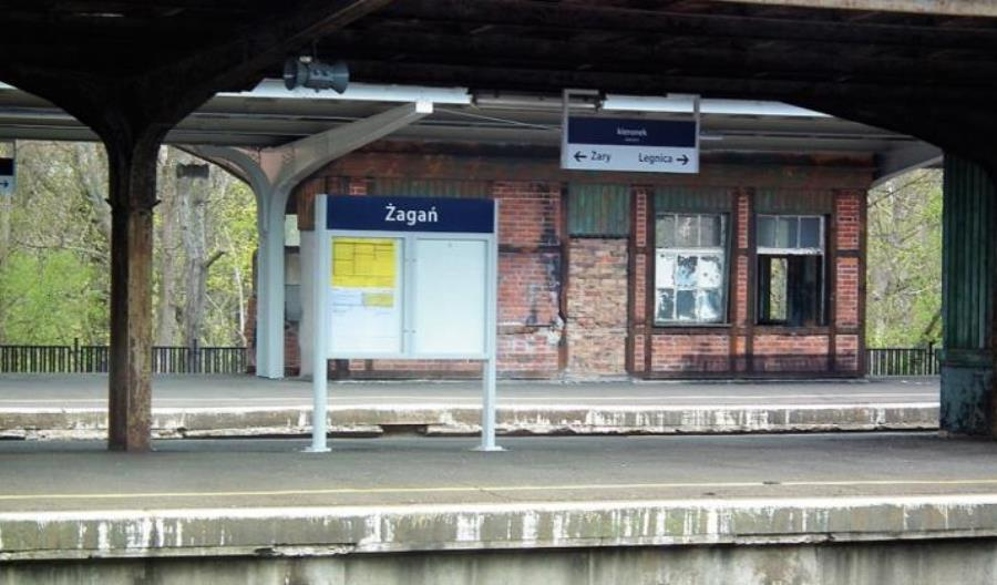 Żagań bez drugiego pociągu PKP Intercity. Nowe stanowisko resortu infrastruktury
