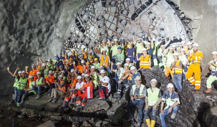 33 kilometrowy tunel Koralm w Austrii gotowy