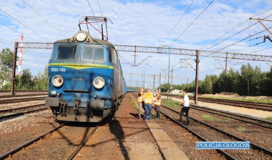 Niebezpieczne zdarzenie na stacji Wróblin Głogowski. PLK: Zadziałały procedury
