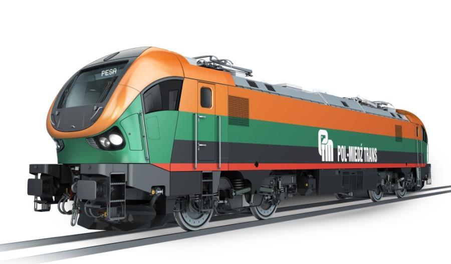 Pesa dostarczy lokomotywę Gama do Pol-Miedź Transu