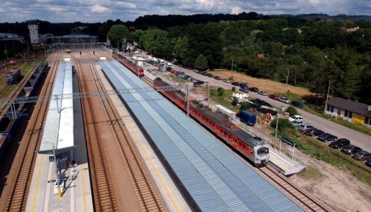 Stacja Krzeszowice prawie gotowa [zdjęcia]