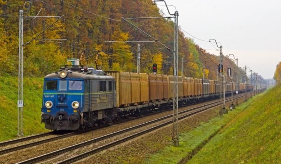 Pierwszy pociąg operatorski PKP Cargo Connect w Porcie Gdynia