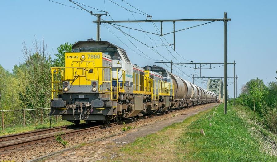 Alstom przetestuje w Holandii autonomiczną lokomotywę manewrową