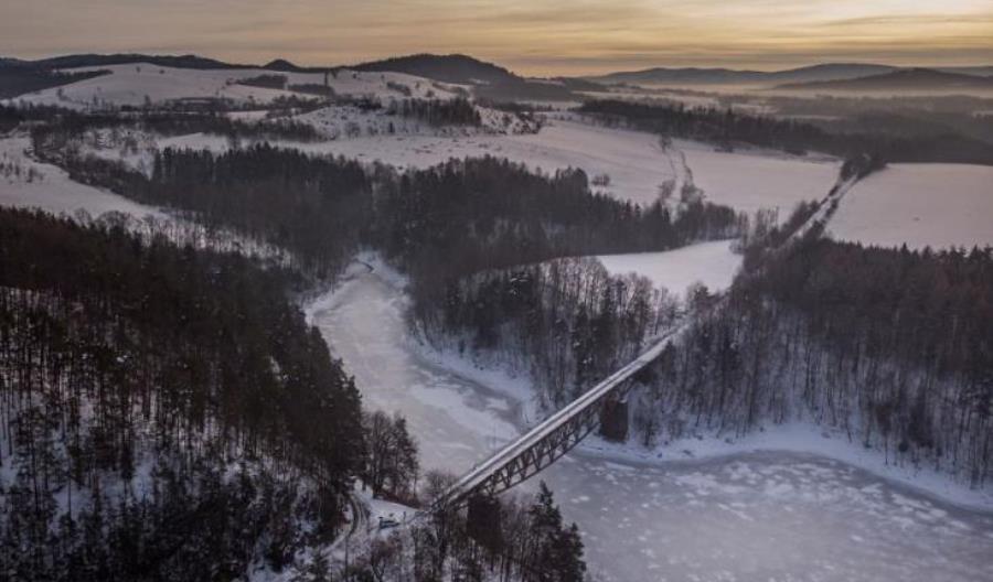 """Filmowcy na moście w Pilchowicach. Nie chodzi o """"Mission: Impossible"""""""