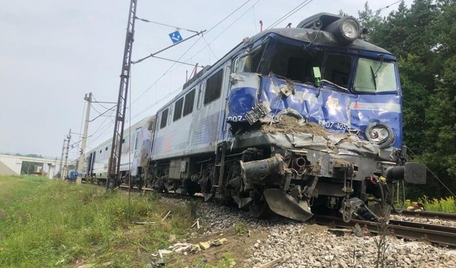 Pociągi wróciły na trasę Stalowa Wola – Przeworsk po wypadku [aktualizacja]