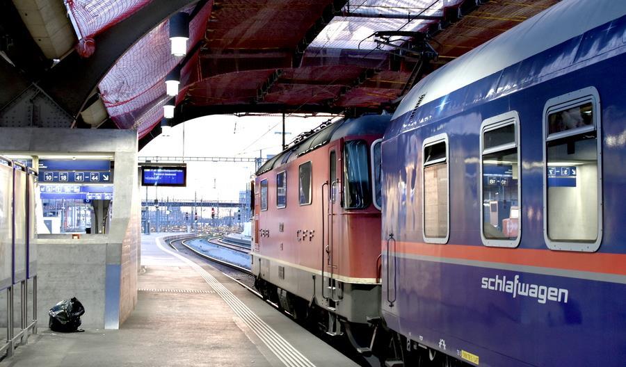 W grudniu 2021 ruszy nocny pociąg Zurych – Amsterdam