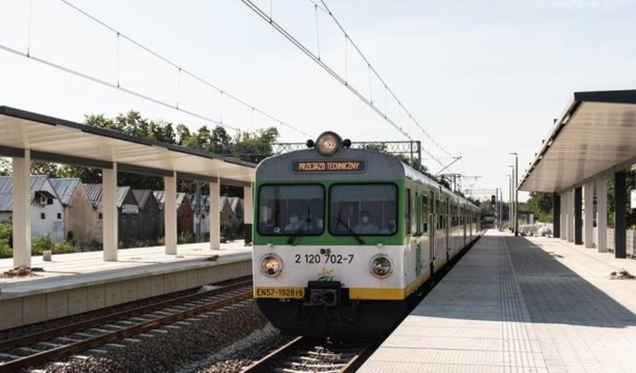 Znów pociągiem z Otwocka do Pilawy