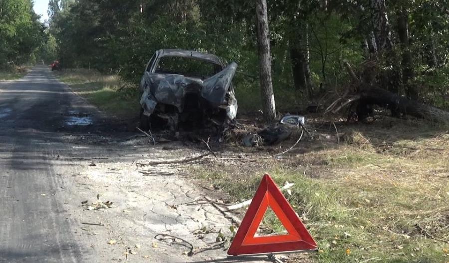 Pracownicy Budimeksu uratowali ludzi z płonącego samochodu