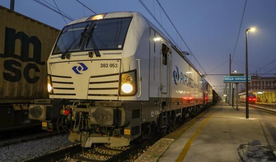 Pierwszy pociąg PKP Cargo International do Włoch