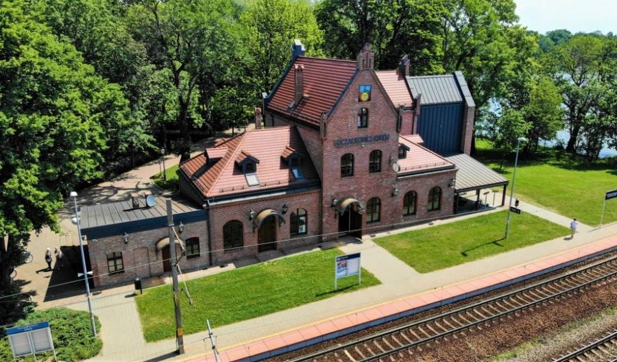 Reprezentacyjny dworzec wyróżnia miasto