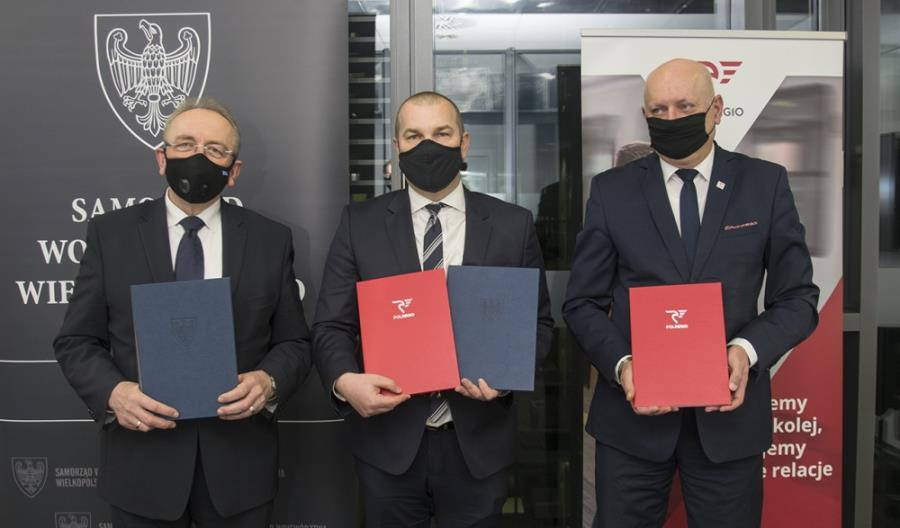 Wielkopolskie przyspiesza z Polregio. Umowa PSC podpisana