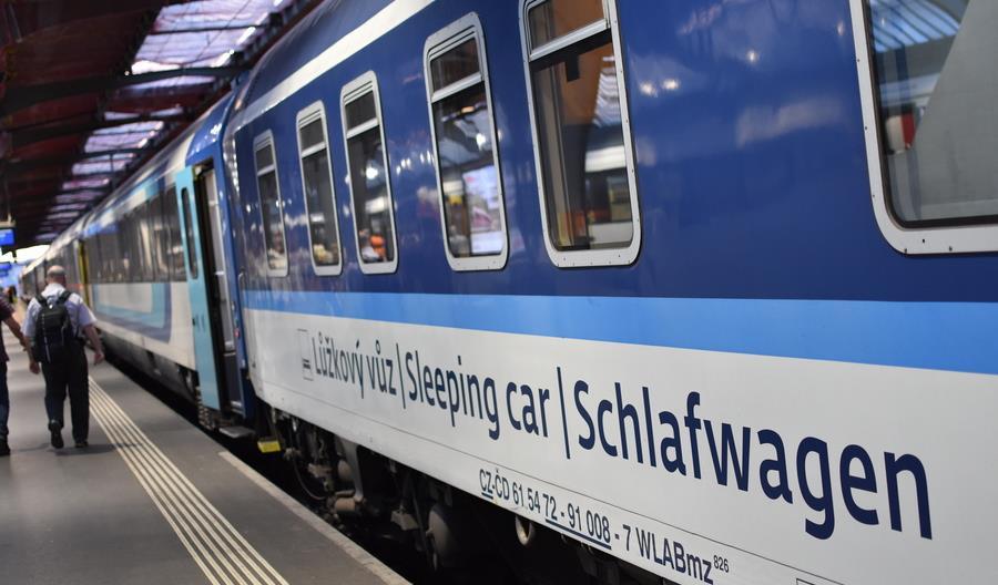 Praga chce finansowo wesprzeć nocne pociągi międzynarodowe