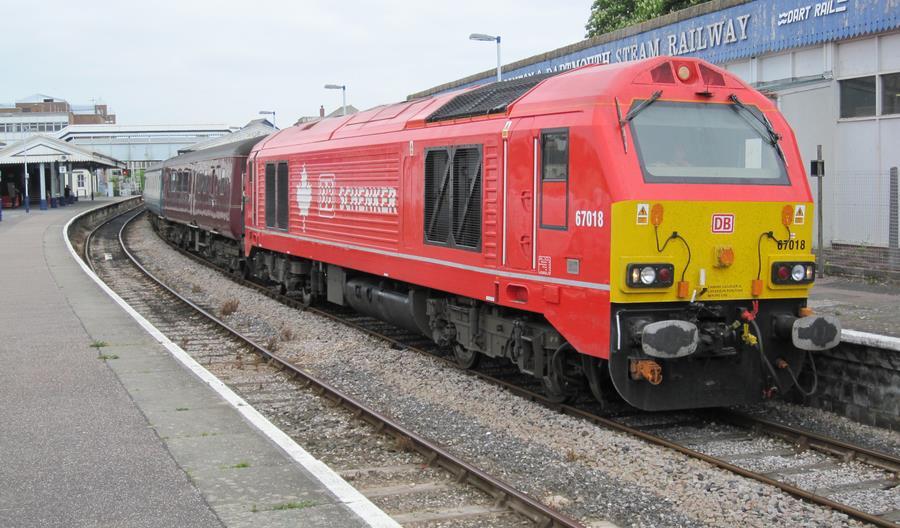 DB Cargo UK testuje paliwo roślinne w lokomotywach spalinowych na Wyspach Brytyjskich