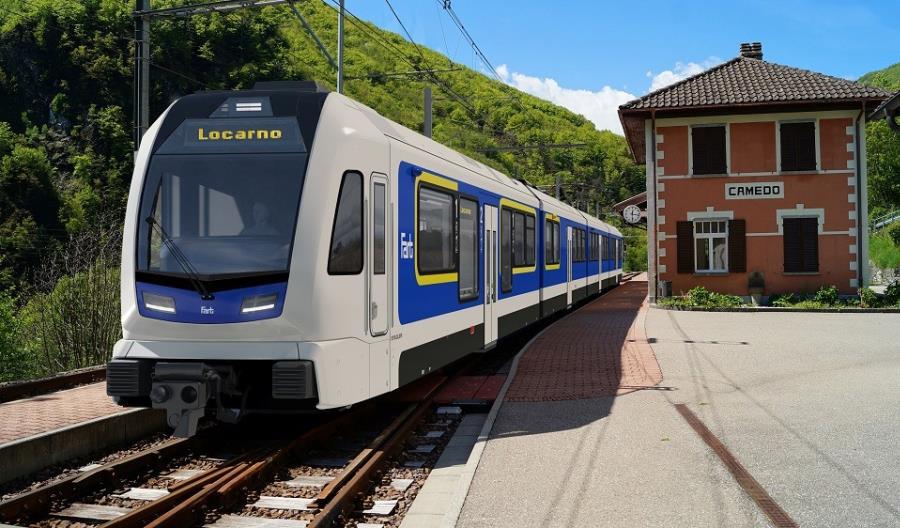 Stadler zbuduje pociągi dla regionalnej górskiej linii wąskotorowej w Szwajcarii