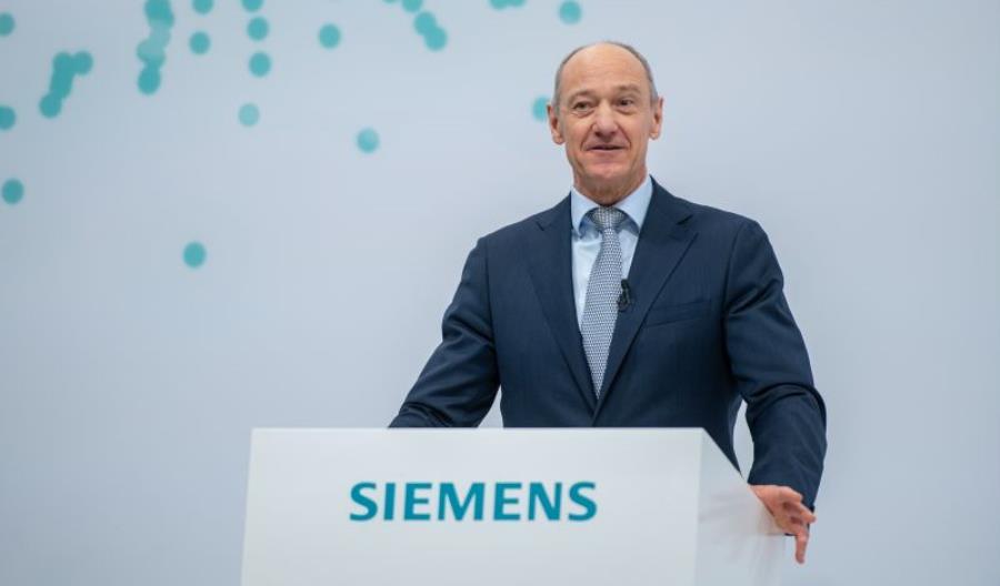 Dobry kwartał Siemens AG i nowy prezes