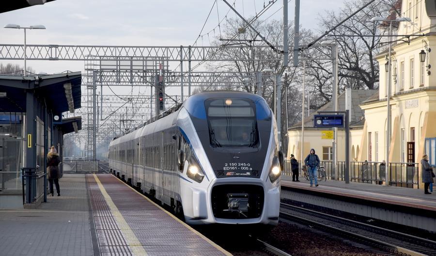 Jak punktualne były pociągi w 2020 roku?