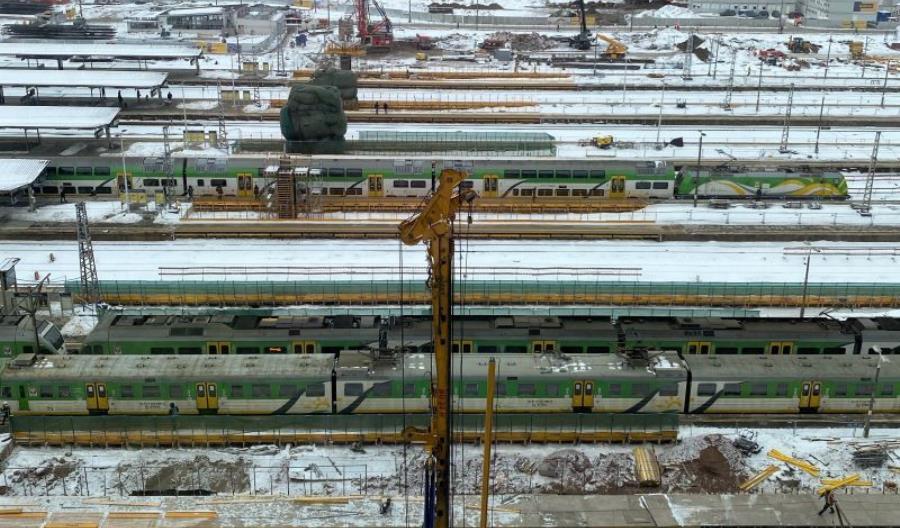Trudna zima dla kolei. W piątek Warszawa, dzisiaj Wrocław