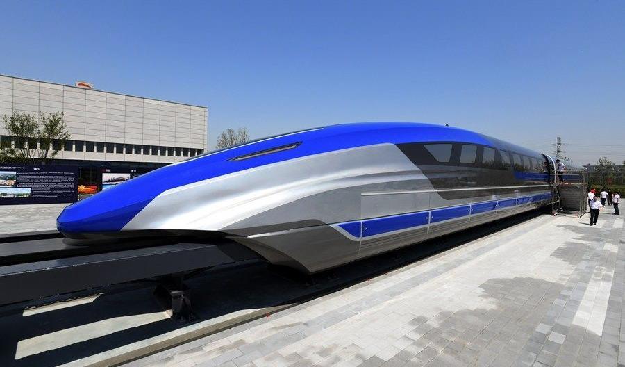 Chińczycy zapowiadają dwie nowe linie kolei magnetycznej na 600 km/h