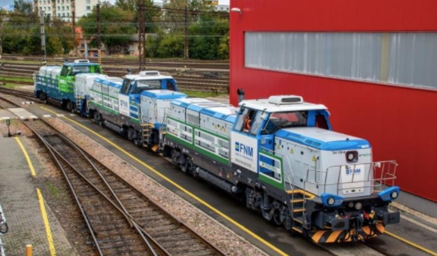Czeski producent CZ Loko sprzedaje lokomotywy do Skandynawii