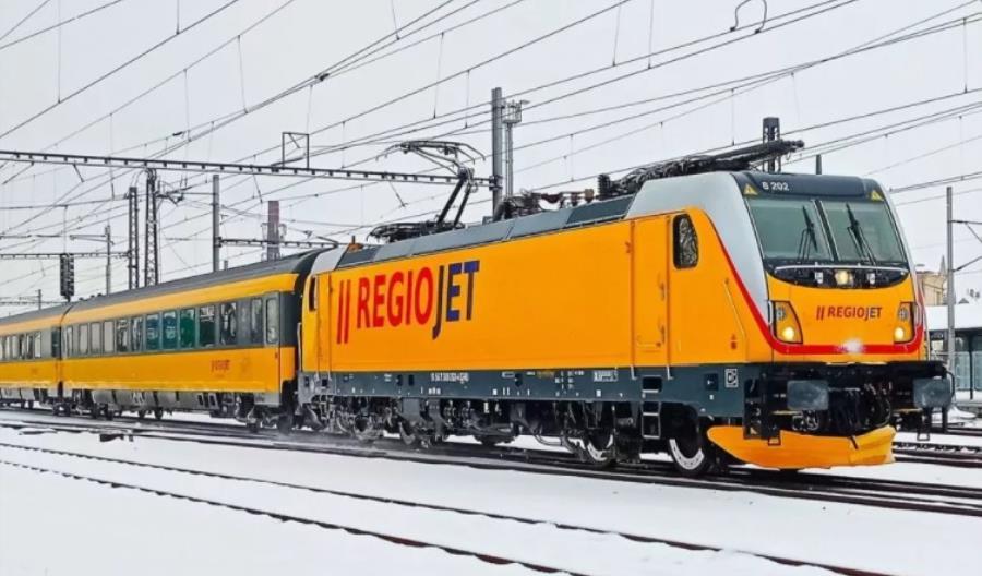 RegioJet ma już pięć nowych Traxxów od Bombardiera